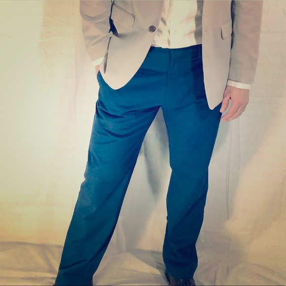 Banana Republic Other - Banana Republic Navy Vogue Dress Pants